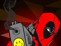 Векторный арт Deadpool