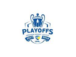 Логотип плей-офф УХЛ сезона 2017/18