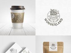 Разработано для кофейня Wonderland.