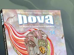 """Обложка для немецкого sci-fi журнала """"NOVA"""""""
