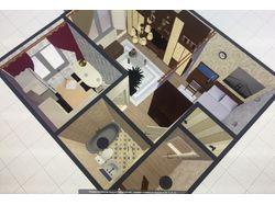 Дизайн однокомнатной квартиры, 30 м2