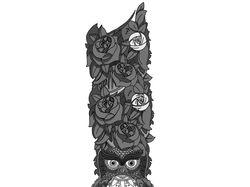 Создание эскизов татуировок.