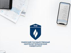 Концепт логотипа для университета