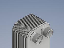 3d-сборка пластинчатого теплообменника