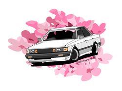 Автомобиль в векторе Illustrator