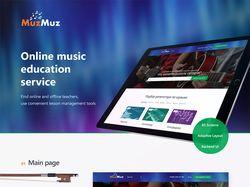 MuzMuz Website Design & Logo