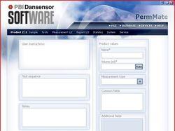 Интерфейс программы технологического контроля