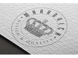 "Логотип для ""Markovich"" design & quality"