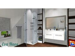 Ванная комната на мансарде