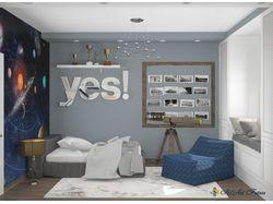 Дизайн интерьера детской комнаты с индивидуальным