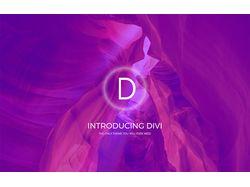 Создание сайта используя Divi Themes