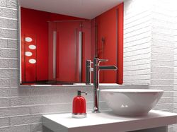 3d visualization of the bathroom