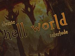 """Дизайн игрового сервера """"HellWorld"""""""