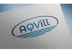 лого  AQVill(аква и вилла)