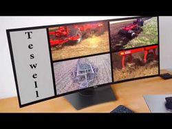 Реклама видеонаблюдения сельхоз техники.