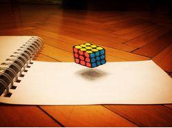 кубик 3-D
