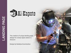 Landing page/Al-Kapote