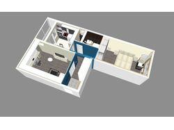 3D визуализация планировки, дизайн-проект