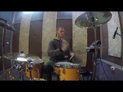 Монтаж барабанной партии