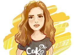 Векторные портреты (Adobe Illustrator)