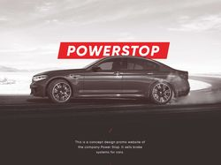 "Промо сайт компании ""POWERSTOP"""