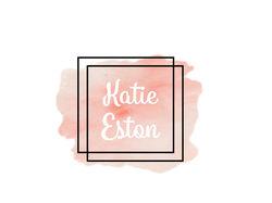 •Логотип для Katie Eston•