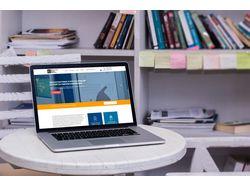 Корпоративный сайт для консалтинг агенства