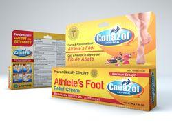Упаковка крема для ног