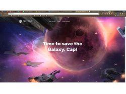 Сайт разработчика игр - Fast Tap