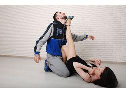 Фотосъемка для издания по женской самообороне