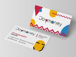 Визитка joymoney