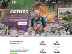 Дизайн сервиса по поиску художников