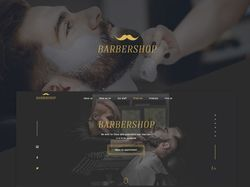 Landing Page for Barbershop