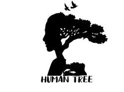 Логотип на тему природы и человека