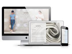 Имиджевый сайт итальянского бренда Re Vera