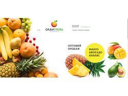 ОЛАНТРЕЙД - оптовая продажа фруктов