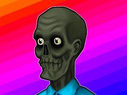 Растровый рисунок зомби