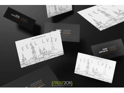Feel-Lviv business card