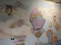 Роспись стен в детской