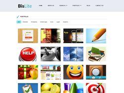 Пример сайта для Веб-студии