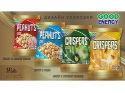 Серия упаковки для арахиса