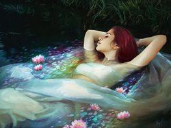 River Maiden (арт ретуш)