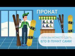 Анимационный ролик для проекта Getski