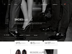 Дизайн интернет - магазина обуви.