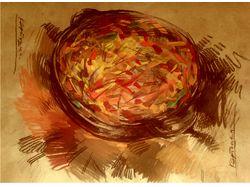 Картошка в натюрморте