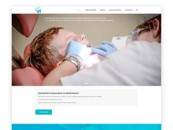 Сайт сети стоматологий