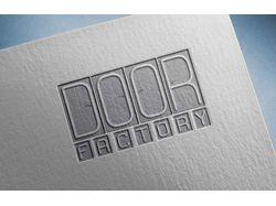 логотип Дверной Фабрики DOOR  FACTORY