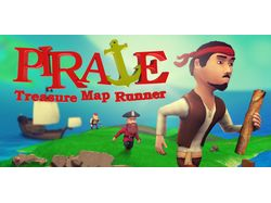 Pirate Treasure Map Runner