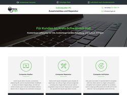 Сайт фирмы TechGet