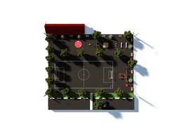 Проект строительства спортивно-игровой детской пл.
